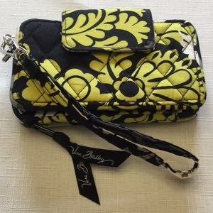 Vera Bradley Baroque Wristlet/Wallet/ID Holder
